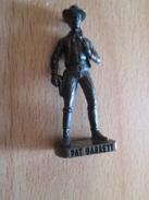 Figurine KINDER MONOBLOC METAL /  WESTERN COW-BOY PAT GARRETT SCAME - Figurines En Métal