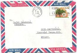 5883 Canada Nature Flora Tree Fruit Flower Post Code Air Mail - Alberi