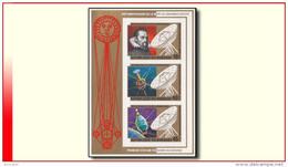 Burundi BL 0115A** ND  Johannes Kepler  MNH - 1980-89: Neufs