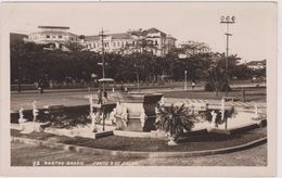Amérique,Brésil,Brasil,en 1950,SAO PAULO,SANTOS,VILLE PORTUAIRE,FONTAINE,PARC,JARDIN,carte Photo Wessel - São Paulo
