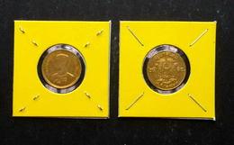 Thailand Coin 1957 25 Satang Y80 - Bronze UNC - Thailand