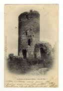 Cpa Les Ruines De BRESSIEUX Tour De L' Est - Bressieux
