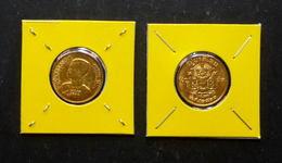 Thailand Coin 1957 50 Satang Y81 - Bronze UNC - Thailand
