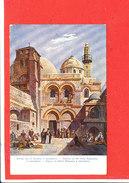 JERUSALEM  Cpa Animée Eglise Du St Sépulcre  709 8   CAC ? - Israele