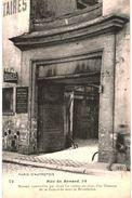 CPA N°4558 - PARIS D' AUTREFOIS - RUE RENARD 34 - MAISON CONSTRUITE PAR JEAN LE COMTE EN 1590. THEATRE DE LA CONCORDE - Arrondissement: 04
