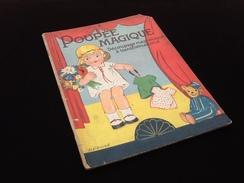 Poupée Magique (1930') Découpage Magnétique à Transformation - Bücher, Zeitschriften, Comics