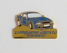 1 Pin's AUTOMOBILE - BMW - CAROSSERIE KOERKEL HOENHEIM (ALSACE 67) - BMW