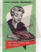 PUBLICITE COCOTTE  BONNE FEMME -AUTOCUISEUR  CUISINE -1955 - Pubblicitari