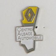 1 Pin's AUTOMOBILE RENAULT - CENTRE ALSACE AUTOMOBILE - Renault