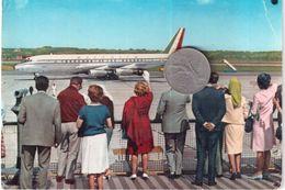 AEROPORTO INTERNAZIONALE DELLA MALPENSA MILANO VIAGGIATA 1963 - Aerodrome