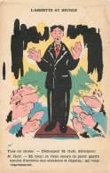 Fantaisie - Politique - Illustrateur JEANVER Satire Politique - L' Assiette Au Beurre - Illustrateurs & Photographes