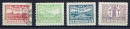 PRZEDBORZ - Poste Locale Série Fischer N°11/14 Valeur Halerzy - Dentelé 10 - 1918 - 3 Timbres Expertisés - ....-1919 Provisional Government