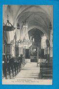 HARTENNES    Vue Intérieur De L'église  Grande Nef - France