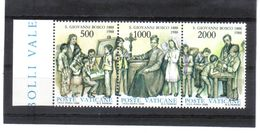 XAX82 VATICAN  1988   MICHL  937/39 ** Postfrischer SATZ SIEHE ABBILDUNG - Vatikan