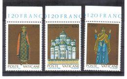 XAX83 VATICAN  1988   MICHL  946/48 ** Postfrischer SATZ SIEHE ABBILDUNG - Vatikan