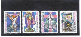 XAX80 VATICAN  1983   MICHL  816/19 ** Postfrischer SATZ SIEHE ABBILDUNG - Vatikan