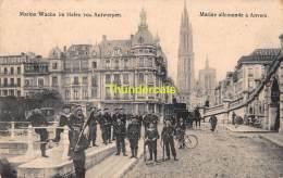 CPA FELDPOST WW I WELTKRIEG FELDPOSTKARTE 1914 -1918  MARINE WACHE IM HAFEN VON ANTWERPEN - War 1914-18