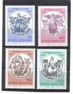 XAX81 VATICAN  1983   MICHL  826/29 ** Postfrischer SATZ SIEHE ABBILDUNG - Vatikan