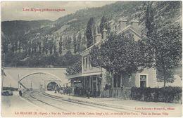 05 La Beaume – Vue Du Tunnel Du Colède Cabre …. Et  Arrivée D'un Train – Pont De Devant Ville ( Gare, - France