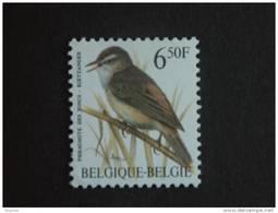 België Belgique Belgium 1994 Vogels Oiseaux Buzin Rietzanger Phragnite 2577 Yv 2576 MNH ** - 1985-.. Oiseaux (Buzin)