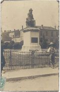 07 – Annonay – Carte-photo, Statue Boissy D'Anglas - Annonay
