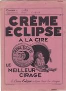 BUVARD,,,,,CREME   ECLIPSE A La CIRE ,,,, Et BRILLANT ECLIPSE  POUR TOUS METAUX,,,,BE - Wash & Clean
