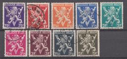 Belqique 1944 Mi.Nr: 697-698-700-701-702-703-704-705-706 Belqique-België  Oblitèré / Used / Gebruikt - België