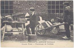 08 – Rimogne – Ardoisières Réunis – Grande Fosse Façonnage De L'ardoise - France
