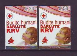 BiH Bosnia 2007 Y Charity Stamp Red Cross  Mi No 17 Selfadhesive MNH - Bosnien-Herzegowina