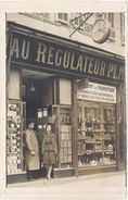 11 – Lézignan ? Carte-photo «  Au Régulateur P.L.M. « - France