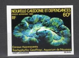 Nouvelle Calédonie - NON DENTELE - N°PA 209 ** (1980) Aquarium De Nouméa - Sin Dentar, Pruebas De Impresión Y Variedades