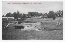 Ceylon - Nuwars Eliya Golf Links Showing The Club House - Plate & Co. 91 - Sri Lanka (Ceylon)