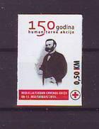 BiH Bosnia 2013 Y Charity Stamp Red Cross Henri Dunant Mi No 29 Selfadhesive MNH - Bosnie-Herzegovine