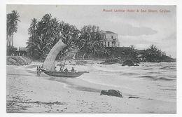 Ceylon - Mount Lavinia Hotel & Sea Shore - Plate & Co. - Sri Lanka (Ceylon)