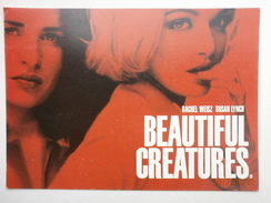 Postcard Beautiful Creatures Rachael Weisz And Susan Lynch Film Poster Advertisment Card My Ref B21706 - Posters On Cards