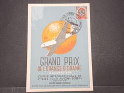 FRANCE / ALGÉRIE - Carte Postale Et Oblitération Du Grand Prix De Vitesse Pour Avions Légers De Oran En 1949 - L 9589 - Algérie (1924-1962)