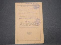 VIEUX PAPIERS - Ausweis De Amiens Validé En 1943 - L 9600 - 1939-45