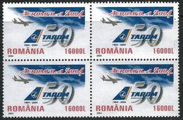 Romania 2004 Scott 4645 MNH Tarom - Unused Stamps