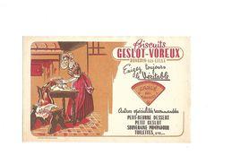 Buvard Biscuits Geslot-Voreux - Blotters