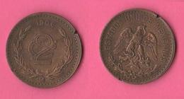 Messico Mexico 2 Centavos 1906 - Messico