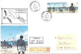 """TAAF - Îles Eparses - Courrier Illustré De Tromelin """"les Esclaves Oubliés De Tromelin"""" - Terres Australes Et Antarctiques Françaises (TAAF)"""