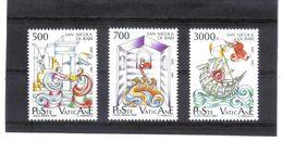 XAX35 VATICAN  1987   MICHL  834/36 ** Postfrischer SATZ SIEHE ABBILDUNG - Vatikan