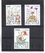 XAX36 VATICAN  1987   MICHL  834/36 ** Postfrischer SATZ SIEHE ABBILDUNG - Vatikan