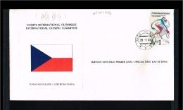 1980 - Czechoslovakia FDC - Sport - Olympics - Lake Placid [FF106] - FDC