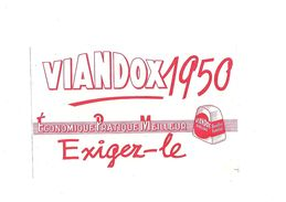 Buvard Viandox 1950 - Blotters