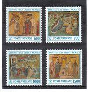 XAX110 VATICAN  1992   MICHL  1075/78 ** Postfrischer SATZ SIEHE ABBILDUNG - Vatikan
