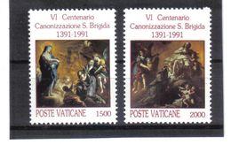 XAX100 VATICAN  1991   MICHL  1038/39  ** Postfrischer SATZ SIEHE ABBILDUNG - Vatikan