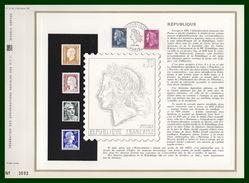 Collection Complète 3 CEF Marianne De Cheffer (3 Scans)  N°51 - 85 - 137 - 1967-70 Marianne Van Cheffer