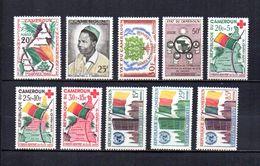Camerún   1960-61   .-   Y&T Nº   310/311-312-313-314/316-317/319 - Cameroun (1960-...)
