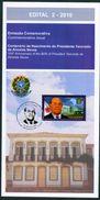 BRAZIL 2010 -  PRESIDENT TANCREDO NEVES  100th ANNIVERSARY -  EDICT # 2 - Brazil